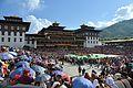 Tsechu festival - Tashichodzong 03.jpg