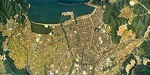 Tsuruga city center area Aerial photograph.1975.jpg