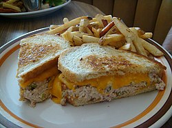 Tuna melt sandwich with fries.jpg