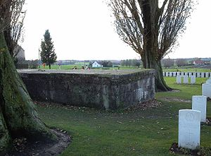 Western Front tactics, 1917 - Image: Tyne Cot Cemetery MCM005