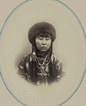 Types of Nationalities in the Turkestan Krai. Kara-Kyrgyz Women. Kyzliar Ai WDL11056.png