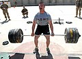 U.S. Army Sgt. Nicholas Wohler attempts to set a new weight goal.jpg