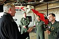 U.S. Coast Guard Lt. Cmdr. Tom Combs, Lt. Mike Groncki and Petty Officer 2nd Class Zach Painter, members of an MH-60 Jayhawk helicopter crew assigned to Coast Guard Air Station Kodiak, Alaska, give Alaska Lt 120723-G-ZP298-003.jpg