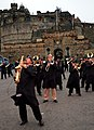 U.S. Navy musicians with the U.S. Naval Forces Europe Band rehearse their segment for the Royal Edinburgh Military Tattoo in Edinburgh, Scotland, July 31, 2012 120731-N-VT117-1523.jpg