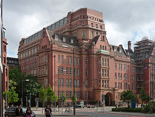 Sackville Street Building grade II listed architectural structure in Manchester, United kingdom