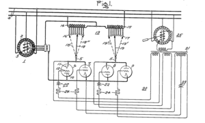 Amplidyne - Figure 1 of the patent drawing