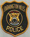USA - MICHIGAN - Farminton Hills police.jpg