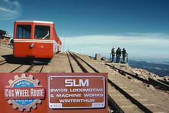 Swiss Locomotive and Machine Works - Manitou and Pike's Peak Railway, Colorado, USA