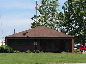 Henagar, Alabama - Post office in Henagar