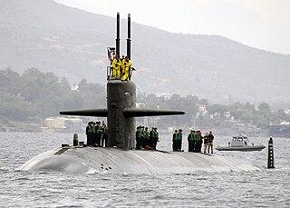 USS <i>Oklahoma City</i> (SSN-723) Los Angeles-class submarine