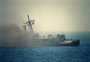 USS Stark FFG-31 port side following missile strike.jpg