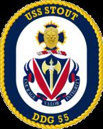 USS Stout DDG-55 Crest