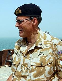 Duncan Potts Royal Navy admiral