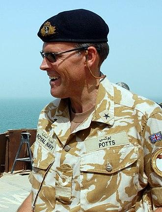 Duncan Potts - Commodore Duncan Potts in 2008