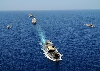 BRP Dagupan City (LS-551) - Image: US Navy 100314 N 0120A 659 U.S. Navy ships and The Republic of Philippines navy ships cruise in formation while taking part in exercise Balikatan 2010 (BK 10)