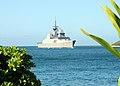 US Navy 100623-N-8539M-704 The Republic of Singapore Navy Formidable-class frigate RSS Supreme (73) arrives at Joint Base Pearl Harbor-Hickam to participate in Rim of the Pacific (RIMPAC) 2010.jpg