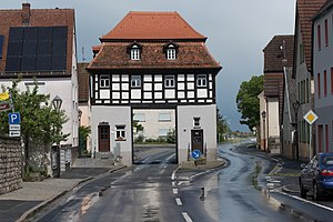 Uehlfeld - Uehlfeld Main road