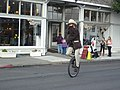 Unicyclist at Victorian Days.JPG
