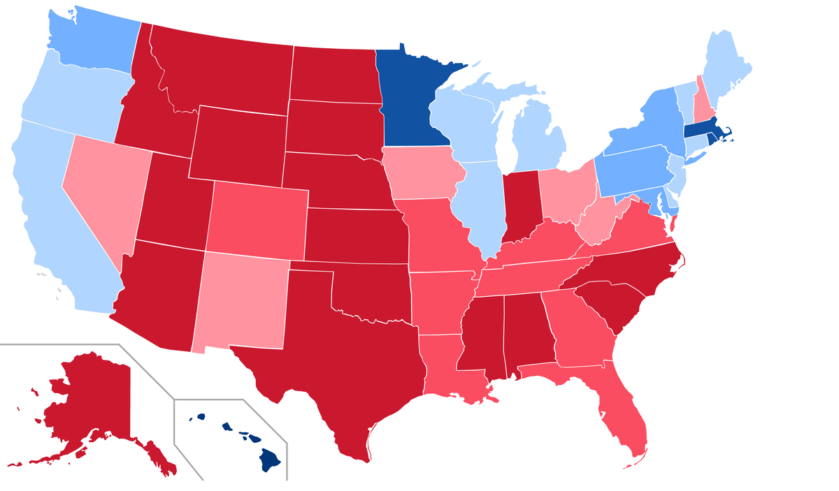 a comparison of the 1968 and 2016 elections in the united states Detailed national-level presidential election results for 1968.