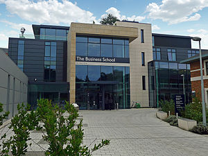 University of Exeter Business School - The University of Exeter Business School's Building:One located on Streatham Campus, Exeter