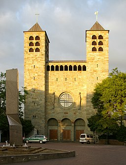 Unna Katharinenkirche in der Abendsonne
