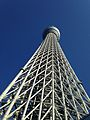 Up View of Tokyo Skytree Tower 20140306.jpg