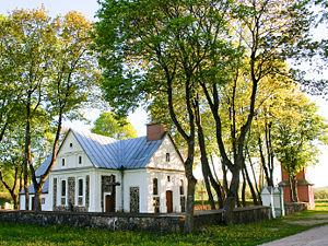 Upninkai - The church in Upninkai