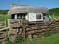 Upside-down boat hut^ Calgary Bay - geograph.org.uk - 1195855.jpg