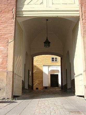 Västerås Castle - Image: Västerås slott porten