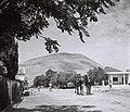 VIEW OF KFAR TABOR AT THE FOOT OF MOUNT TABOR. כפר תבור למרגלות הר תבור.D841-037.jpg