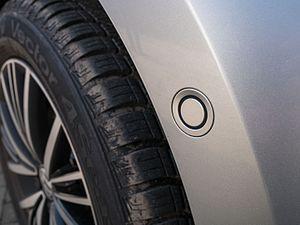 Parking sensor - Parking sensor on a fender
