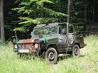 Volkswagen Iltis Motor vehicle