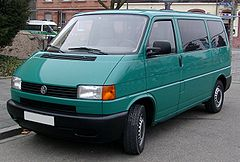 Volkswagen Transporter T4 przed liftingiem