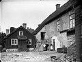 Vadstena, yard, 1880s.jpg