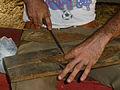 Vallée de Viñales-Préparation des feuilles de tabac.jpg
