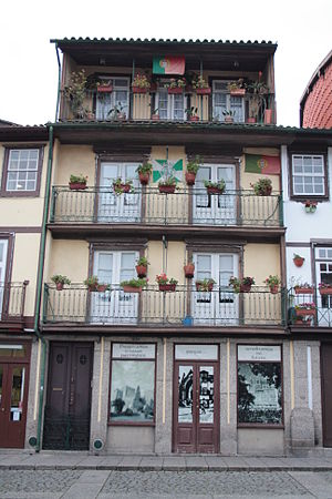 Português: Centro Histórico de Guimarães
