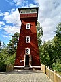 Vehoniemi observation tower in Kangasala, Finland.jpg