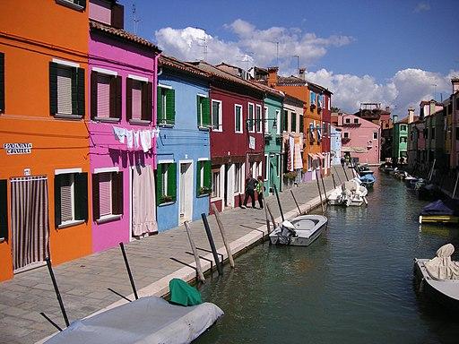 Venedig Insel Burano 01
