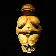 Venus de Willendorf.