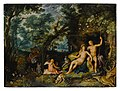 Venus and Adonis resting in an extensive landscape, with Cupid and hunting dogs and their quarries .jpg