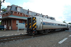 Vermonter (train) - Vermonter at Wallingford, Connecticut