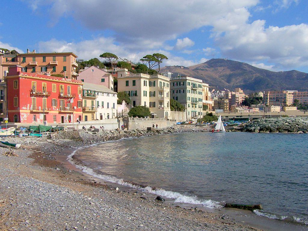 Plage de Vernazzola à Gênes - Photo de Patano