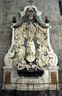 Funerary Monument to Cardinal Niccolo Forteguerri, Pistoia