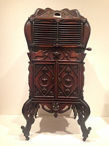 Victrola Cabinet, William Plummer, Philadelphia Museum Of Art
