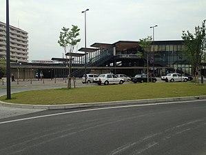 Nishitetsu Yanagawa Station - Image: View of Nishitetsu Yanagawa Station