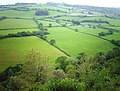 View of fields from Castle Hill - geograph.org.uk - 2372601.jpg