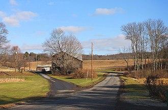 Fishing Creek Township, Columbia County, Pennsylvania - View of Fishing Creek Township in early winter