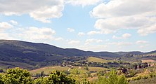 View of the Tuscan Hills from the San Gimignano.jpg