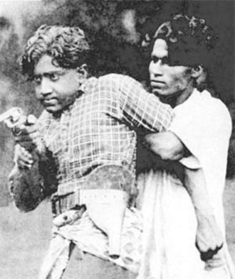 Malayalam cinema - A scene from the film Vigathakumaran