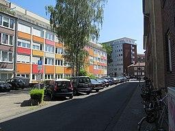 Viktoriastraße in Münster
